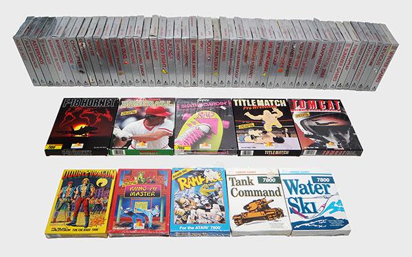 Atari 7800: Coleção Completa - AntonioBorba.com