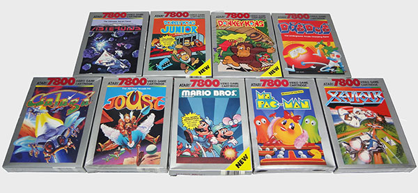 Atari 7800: Conjunto de Games Interessantes - AntonioBorba.com