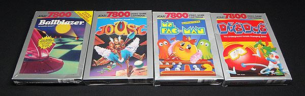 Atari 7800 - Lote com 10 Jogos - AntonioBorba.com