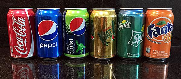Tabela Nutricional - Refrigerantes Normais - AntonioBorba.com
