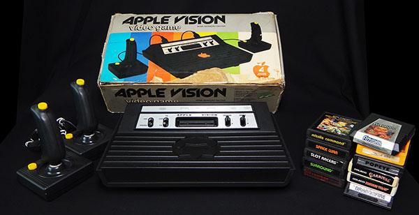 Apple Vision - Atari 2600 Nacional - Lote com Jogos e Controles - AntonioBorba.com