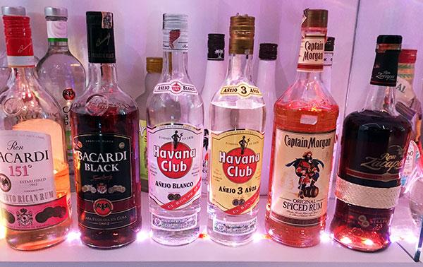 Rum - Diversas Marcas - Antonio Borba