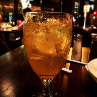 Seasonal Bourbon Lemonade do Joe's American Grill