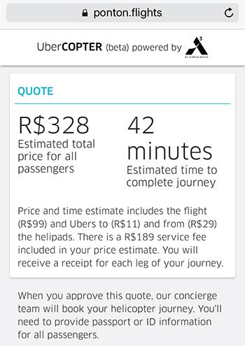 UberCopter: Vale a Pena? Antonio Borba
