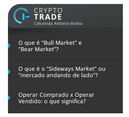 Coluna Crypto Trade no Blog Icoinomia - Antonio Borba
