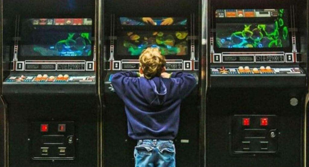 A sensação única de jogar em um arcade de verdade