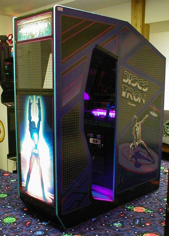 Arcade Discs of Tron - Environmental