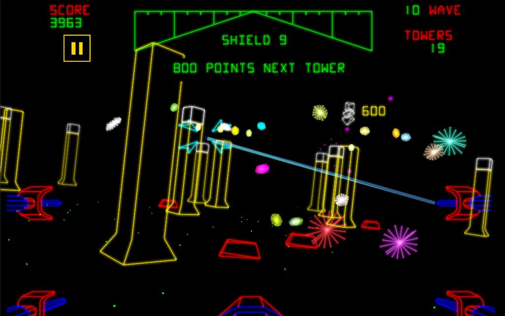 Star Wars: arcade vetorial colorido de verdade