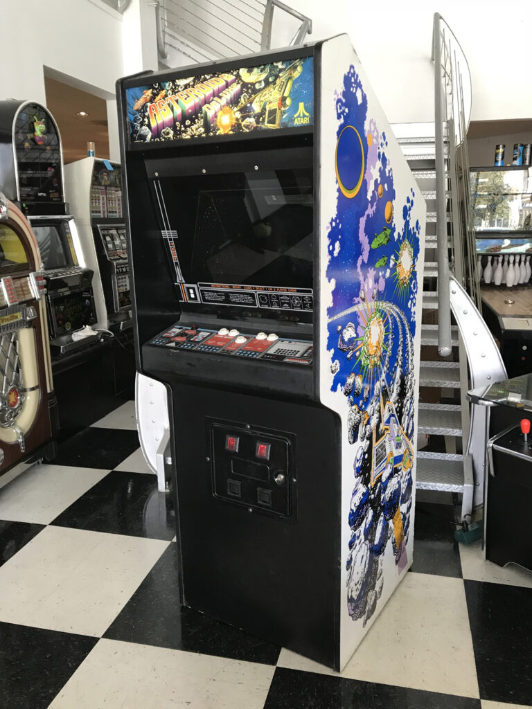 Arcade Asteroids Deluxe - A continuação