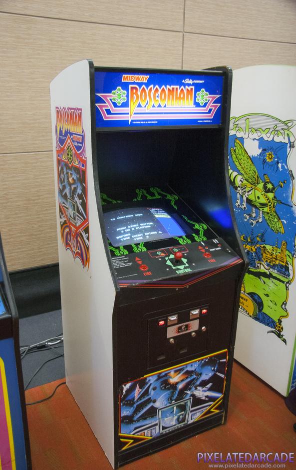 Arcade Bosconian - Multidirectional scrolling shooter injustamente menos conhecido