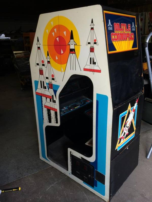 Missile Command - Enviromental Cockpit Arcade