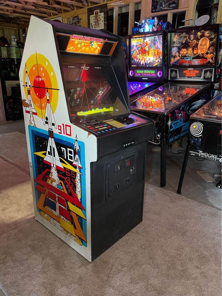 Arcade Missile Command - No contexto da Guerra Fria