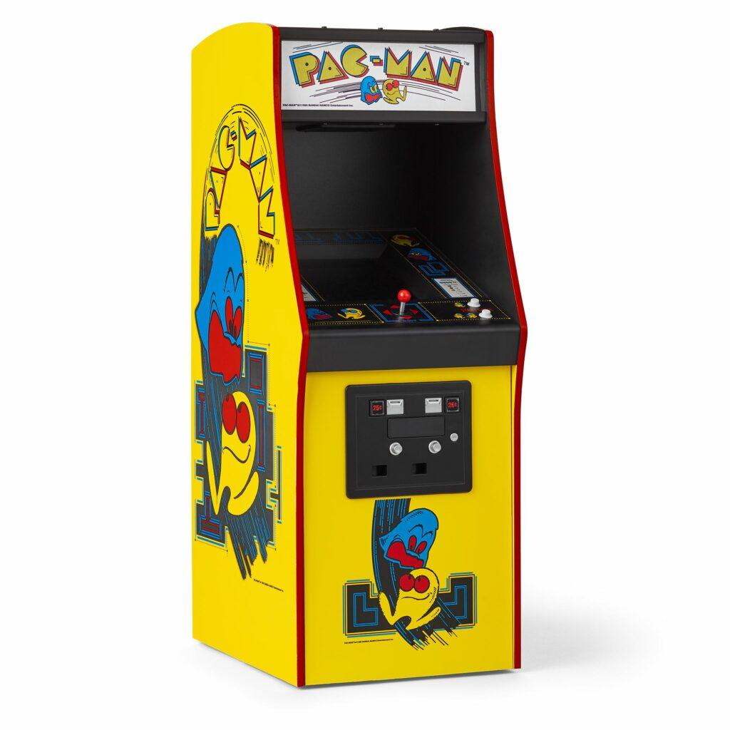 Arcade Pac-Man - Mais de 100 mil unidades produzidas, uma febre