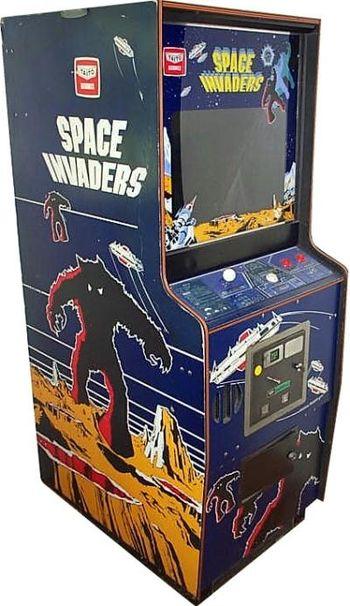 Arcade Space Invaders - O primeiro fixed shooter