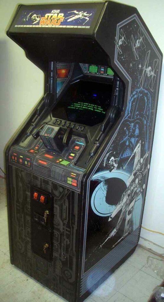 Star Wars Arcade de 1983 - Um dos melhores exemplos de color vector