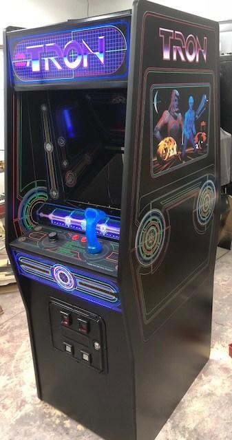 Arcade Tron - Uma obra de arte na forma de jogo